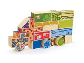 25-Piece Organeco Blocks Set by Hape