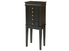 Deanna Jewelry Armoire Black