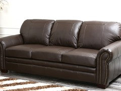 Karoza Leather Oversized Sofa