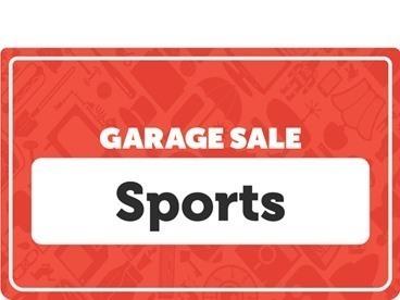 Sports Garage Sale