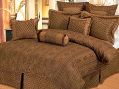 Sedona 9Pc Bedding Set - Queen or King