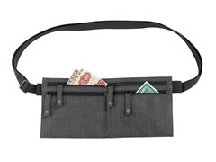 T-Tech by Tumi Waist Stash, Charcoal Charcoal