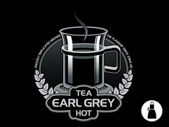 Tea, Earl Grey. Hot Apron
