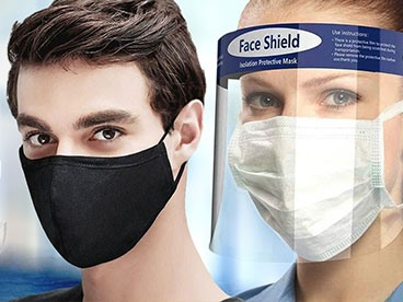 Reusable Masks and Face Shields