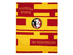 Florida State Quilted Throw