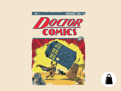 Dr Comics #1 Tote