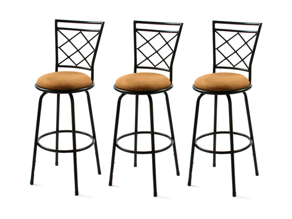 Avery Adjustable Bar Stools Set Of 3