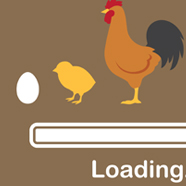 Loading chicken