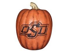 Resin Pumpkin - Oklahoma State
