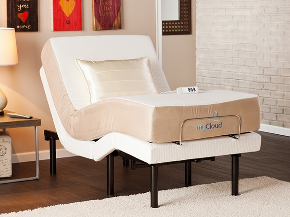 "Adjustable Bed with 10"" Twin XL Mattress"