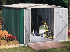 Arrow Sentry 8' x 9' Shed, Green