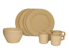 4-Person Bamboo Picnic Set