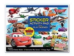 Disney Planes Sticker Activity Pad with Play Scenes