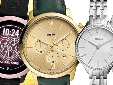 Michael Kors and Fossil Watches