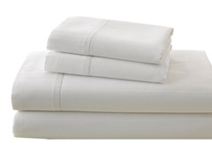 700TC Damask Stripe Sheet Set-Ivory-4 Sizes
