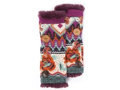 MUK LUKS® Boho Button Accent Armwarmers