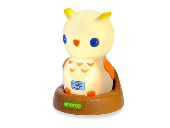 Toddler Night Light Ok To Wake: Night Owl Portable Night-Light With OK To Wake