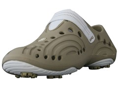 Dawgs Tan/White Golf Shoes (Youth Sizes)