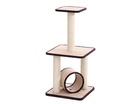 "35"" Cat Tree with Scratching Posts"