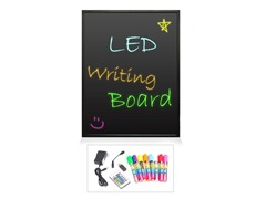 "35"" x 24"" Erasable Illuminated LED Writing Board"