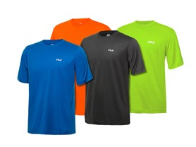 Fila Men's Active Tees - 10 Colors