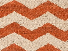 Rust/Beige Hand Woven Rug (9-Sizes)