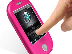 """8GB 3"""" Touch MP3 Video Player - Pink"""
