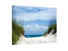 Ocean Path Wrapped Canvas (3 Sizes)