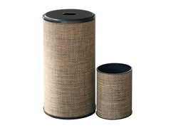 2PC Rd Hamper and Wastebasket Set - Multi
