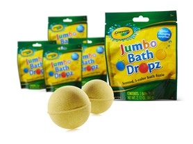 Crayola Jumbo Bath Dropz 5-Pack