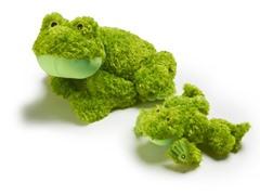Zoobies Flavio Frog w/BONUS Mini Plush