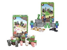 Minecraft Papercraft Animal/Hostile 2pk