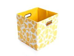 Rusty Giraffe Canvas Folding Storage Bin