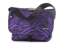 Yak Pak Messenger Bag - Purple Zebra