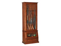 12-Gun Slanted Base Cabinet