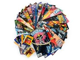 27 Random Comics + Collector Cards!