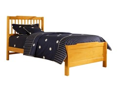 Captain Twin Bed Honey Pine