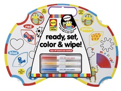 Ready, Set, Color & Wipe!