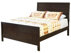 Sleigh Bed with Media Chest- Cal King