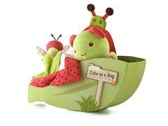 Cute As a Bug Four-Piece Set