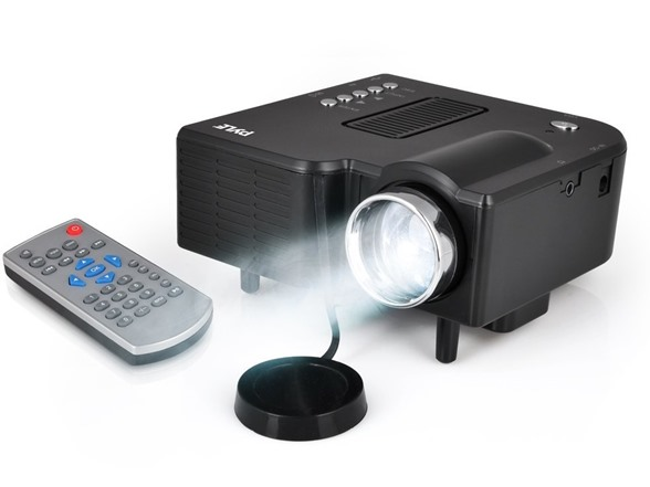 Pyle mini led portable projector for Small powerful projector