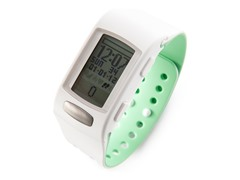 LifeTrak Activity Monitor -White/ Pistachio
