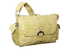 Kalencom Buckle Bag - Moss Crocodile