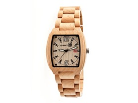 Earth Wood Sagano Bracelet Watch