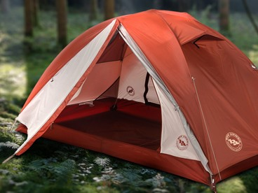 Camping with Big Agnes