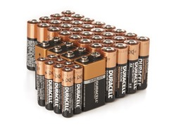 AA/AAA/9V CopperTop Alkaline - 44 Pack