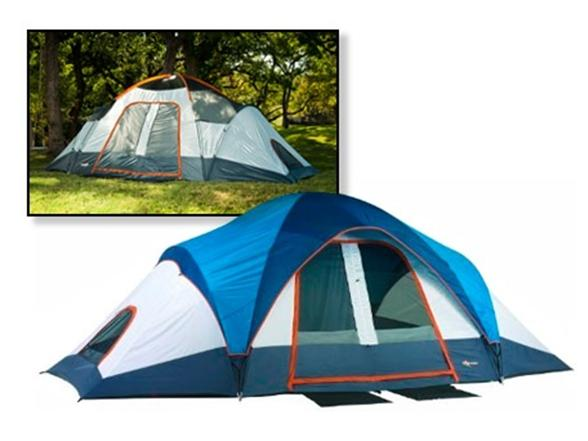 sc 1 st  Woot & Mountain Trails Grand Pass 2-Room 6-7 Person Family Dome Tent