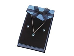 Sterling Silver Set Light Blue
