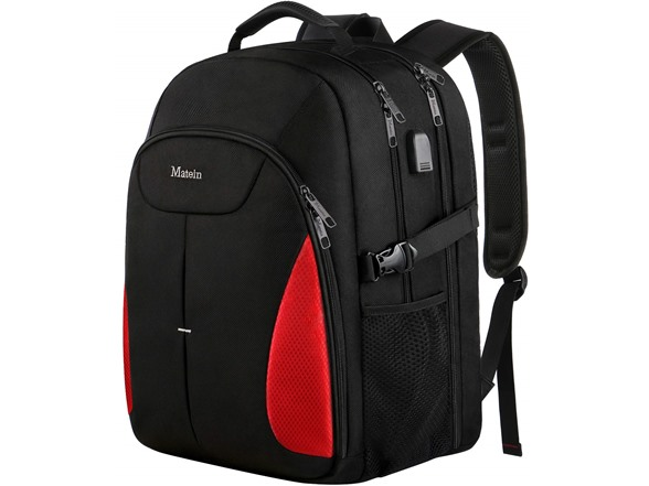 "Matein AIO 17"" Large Travel Laptop Backpack with USB Port"