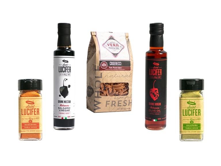 St Lucifer Pasta, Oil, Vinegar, & Spices (5)